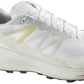 Salomon Sense Ride 3 Chaussures Homme, white/white/balsam green